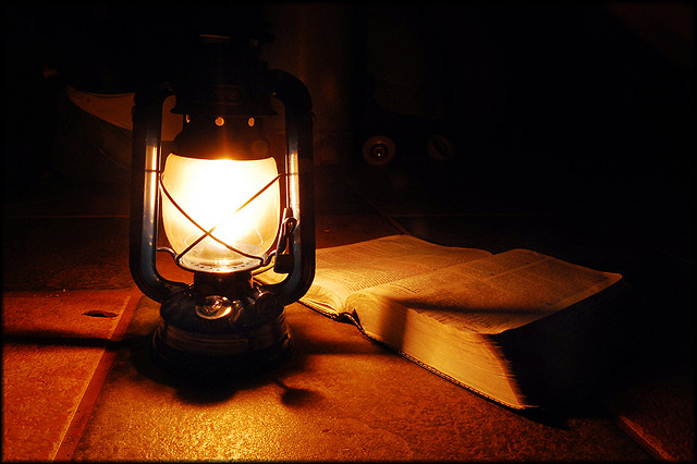 lamp and bible - photo #29